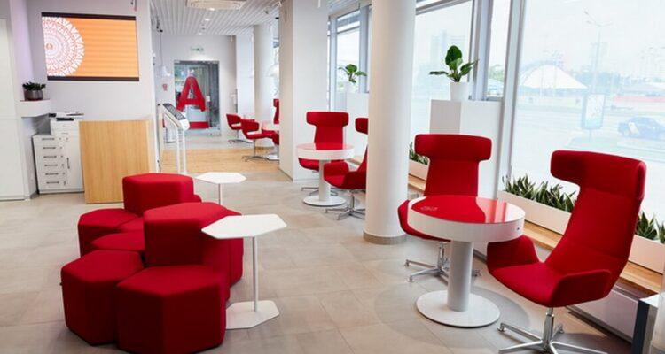Альфабанк открыл А-локация: новое отделение, где можно почитать и выпить кофе